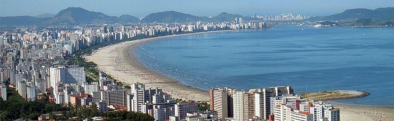 Santos panoramic view