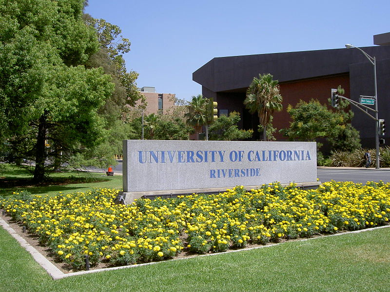 UCR research treated wastewater