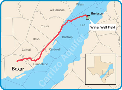 San Antonio Water Pipe