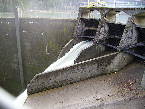 Glines Canyon Dam was built in 1927. Its removal will start by late 2011.