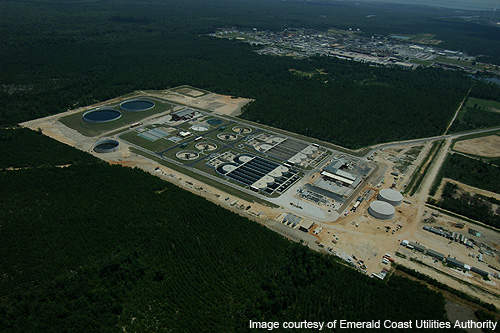 The CWRF is the biggest government project in Escambia County.