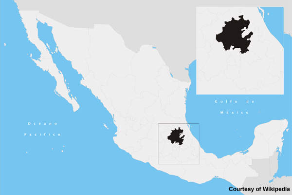 Conagua is constructing a new wastewater treatment plant in Atotonilco, Hidalgo state, Mexico.