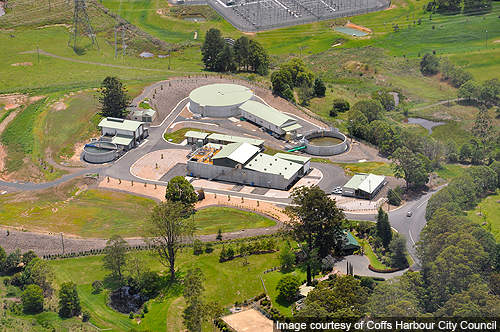 Coffs Harbour water treatment plant (WTP) is located at Karangi, a suburb in the city of Coffs Harbour, New South Wales.