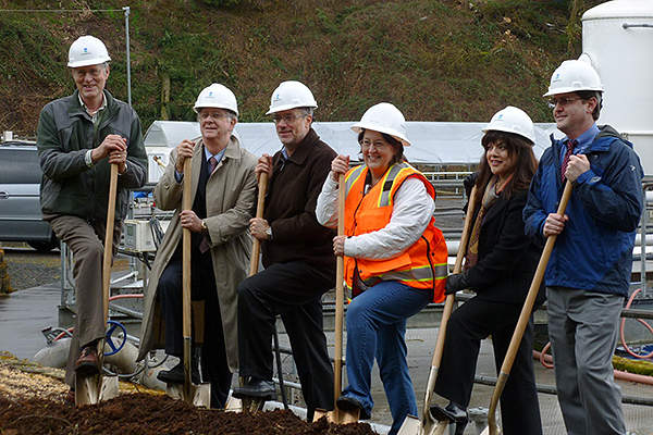 The groundbreaking ceremony for the expansion project was held in March 2012.