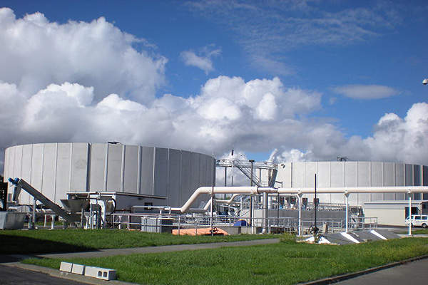 Tahuna Wastewater Treatment Plant Upgrade
