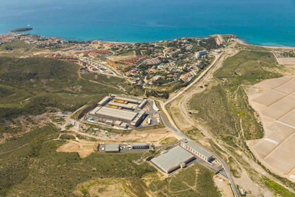 The Valdelentisco desalination plant is located in Murcia, in south-eastern Spain, Image courtesy of Cadagua.