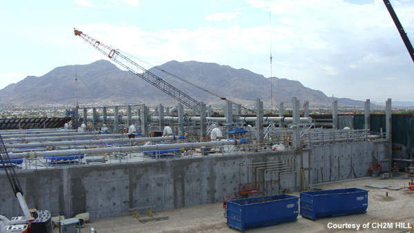 The City of North Las Vegas WRF is the largest MBR plant in North America.