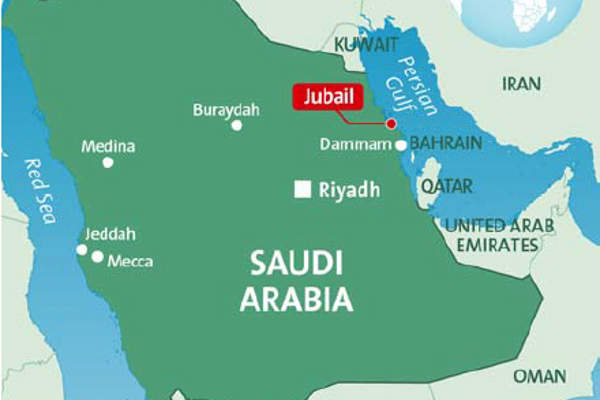 Sadara Petrochemicals Complex Desalination Plant Jubail Industrial