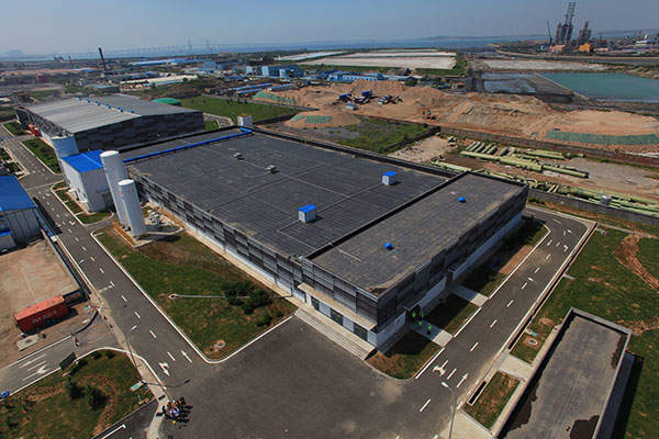 Qingdao Desalination Plant has a rated capacity of producing 100,000 cubic metres per day of drinking water. Image courtesy of Abengoa Water.