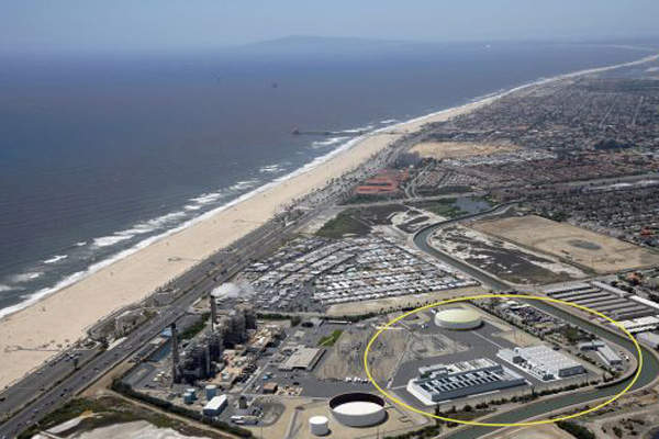 The Huntington Beach desalination plant is expected to be completed by 2018. Image courtesy of Poseidon.