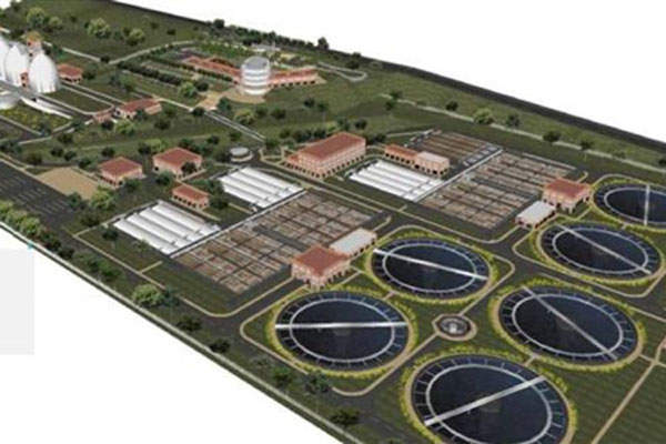 An overview of the Bello WTP, the largest wastewater treatment plant in Latin America.