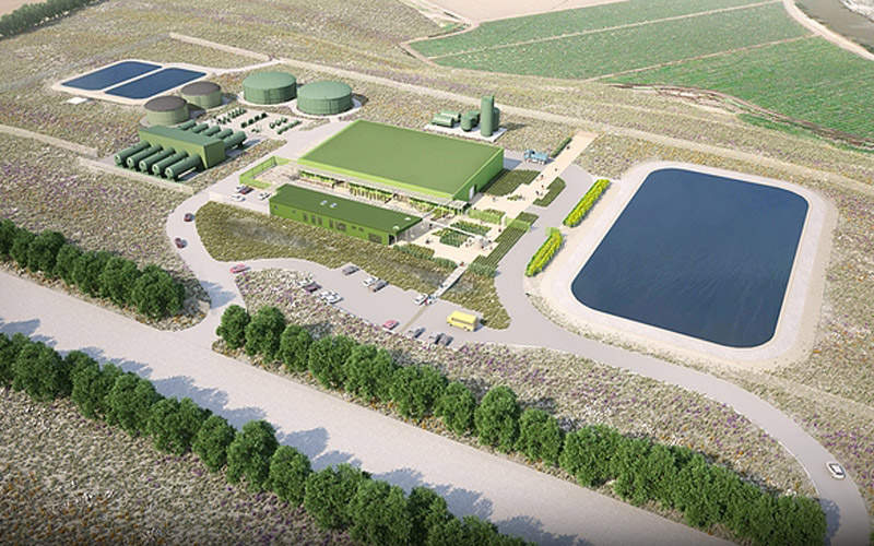 The Monterey Peninsula Water Supply Project (MPWSP) involves the construction of a new desalination plant.  Image courtesy of California American Water.