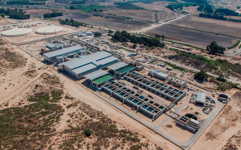 The Sorek desalination is the world's largest seawater desalination plant.