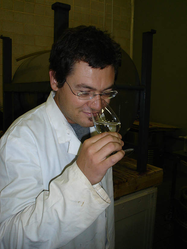 The ASTR project risk assessment and water quality manager tastes the recovered water.