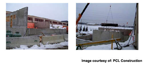 Work underway on the Glenmore sodium hypochlorite facility.