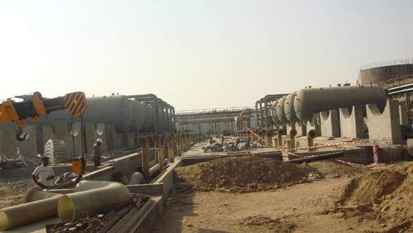 Construction of the CGPL UMPP project began in March 2009.