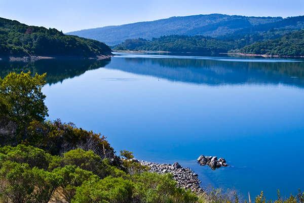The HTWTP treats water from the Crystal Springs Reservoir System to be supplied throughout the Northern Peninsula. Image courtesy Water System Improvement Program (WSIP) Peninsula.