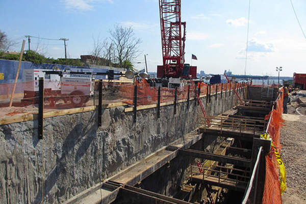 Construction of the Staten Island Siphon is expected to be completed by the end of 2014.