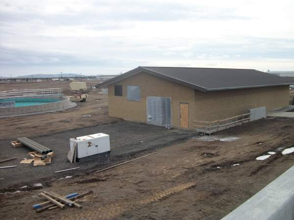 Construction on the city of Airway Heights' Water Reclamation Plant project commenced in May 2009 and the plant was inaugurated in 2012. Image courtesy of City of Airway Heights.
