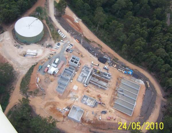 The construction of the Northern Water Treatment Plant in NSW commenced in September 2009 and was completed in March 2011. The project cost was A$24.35m. Image courtesy of Eurobodalla Shire Council.