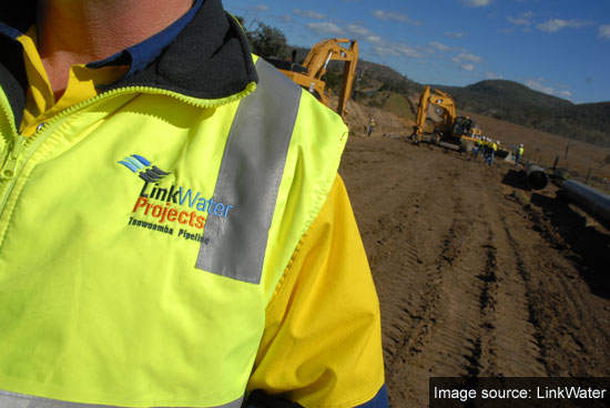 Construction of the Toowoomba Pipeline underway