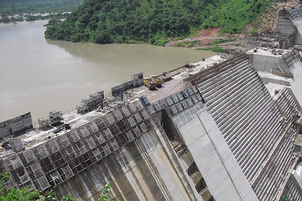 The dam generates 400MW of power and enables irrigation of about 30,000ha of land. Image courtesy of ZSM.