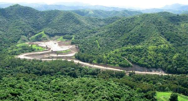 Foundation works of the Portugues Dam project. Image courtesy of US Army Corps of Engineers, Jacksonville District.