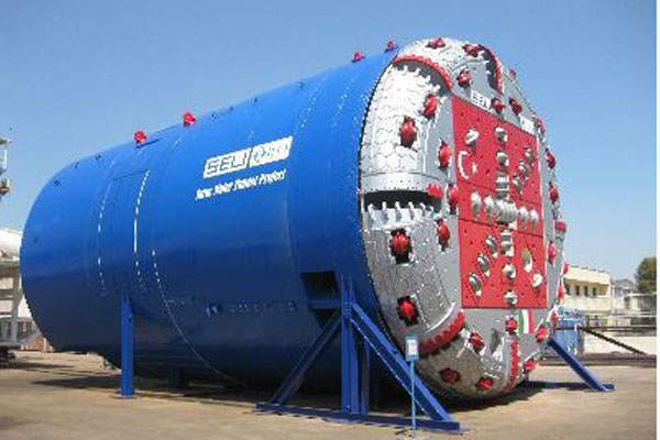 Seli supplied the 7.83m-diameter DSU TBM for the tunnel project. Image courtesy of SELI S.p.a.