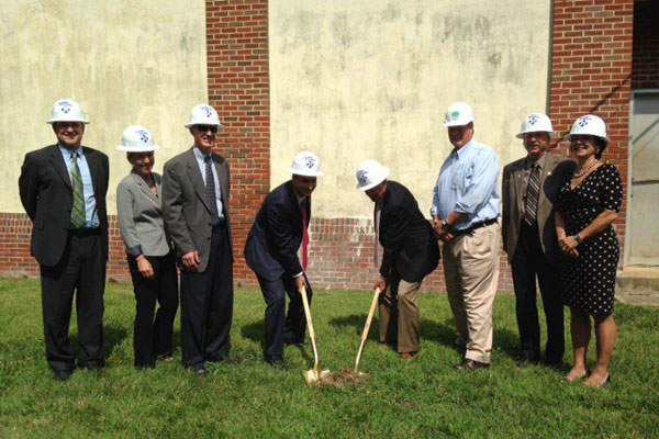 The ground breaking ceremony of Annapolis Water Treatment Plant was held in July 2014. Image courtesy of Government of the City of Annapolis.