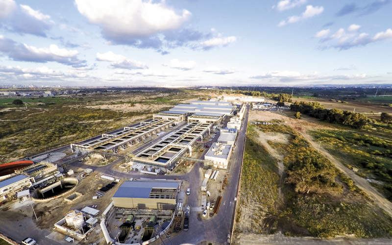 Sorek plant was built on the Mediterranean coast, about 15km south of Tel Aviv, Israel.