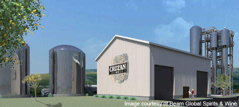 The Cruzan Rum wastewater treatment plant is scheduled to come online in early 2012. The plant will be equipped with scrubber technology for ethanol recovery and reduction of volatile organic compounds emission.