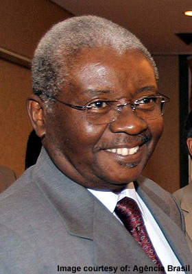 Armando Emílio Guebuza, President of Mozambique. He has been instrumental in driving water and sanitation issues up the political agenda.