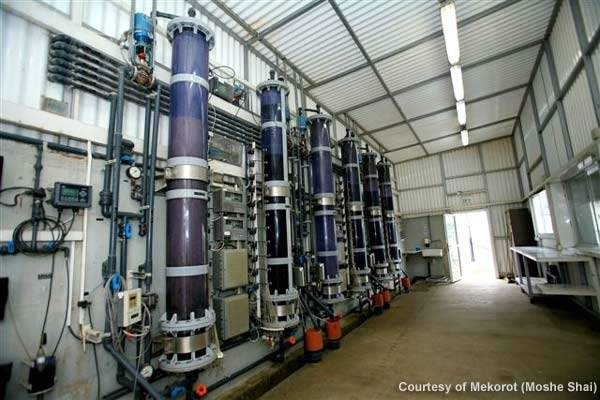 The filtration pilot facility.
