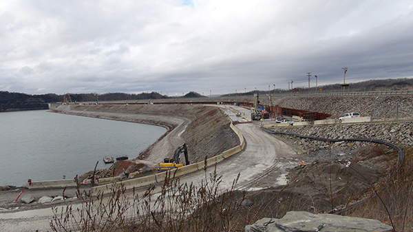 The remediation project progressed ahead of schedule. Image courtesy of USACE / Lee Roberts.