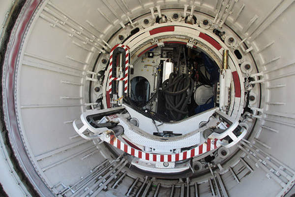 Exclusively designed Earth Pressure Balanced Tunnel Boring Machine (EPBTBM) will be used to dig the tunnels.