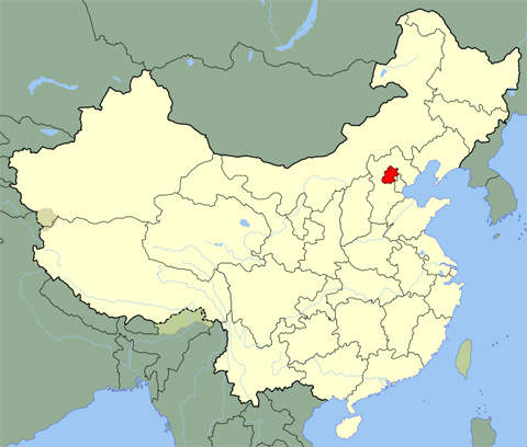 The Qinghe wastewater treatment plant is located in Beijing, China.