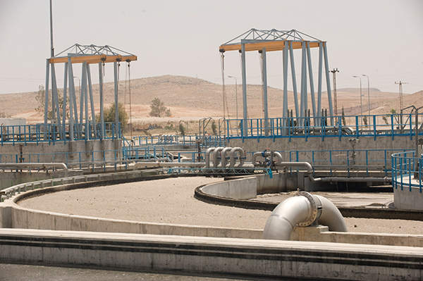 The As-Samra plant was built between 2003 and 2008. Image courtesy of GDF SUEZ / ABACAPRESS / Lyons Bill.