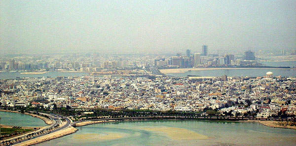 The project site is located on reclaimed land in the north-eastern part of Bahrain. Image courtesy of Leshonai.