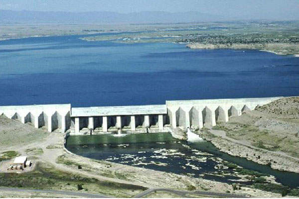 Raw water is sourced from the Pueblo Reservoir. Image courtesy of SDS Water.