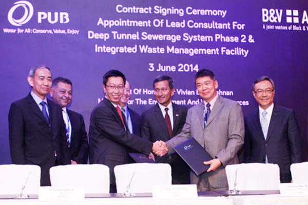 Black & Veatch and AECOM signed the engineering contract for phase II of the DTSS in June 2014.