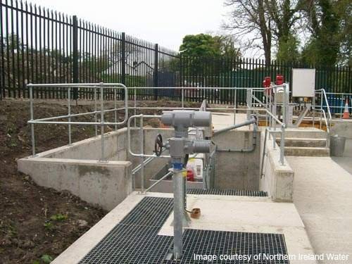 NI Water owns and operates the Park wastewater works.