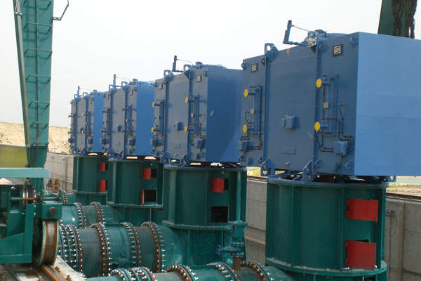WEG supplied eight medium-voltage asynchronous motors for the project.