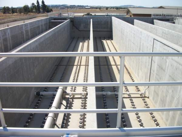 Initial treatment capacity of the plant is one million gallons a day. Image courtesy of City of Airway Heights.
