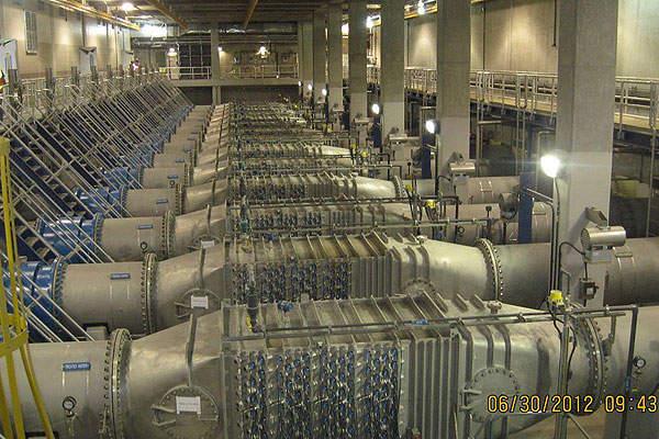 Unit three of the Delaware / Catskill UV Treatment Facility.
