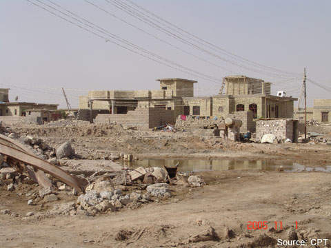 The WTP project forms part of Iraq's extensive reconstruction programme.