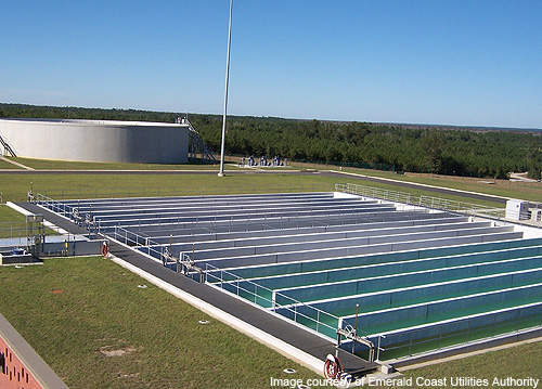 Chlorine chambers at the CWRF.