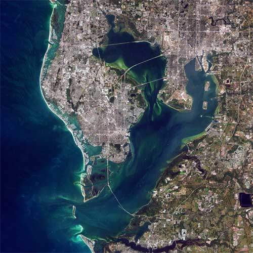 Tampa Bay Satellite Photo