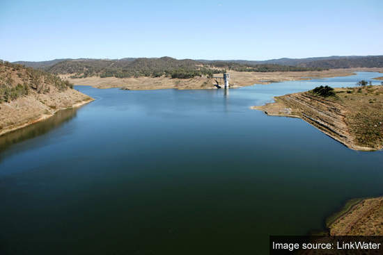 Toowoomba's Cressbrook Dam at 8% capacity, its lowest.
