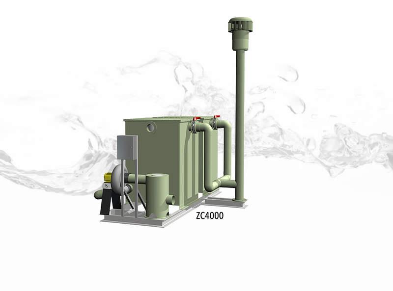 ZC4000 odour control unit