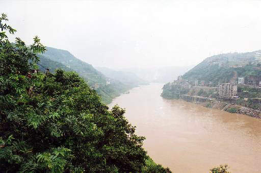Wu river – a Yangtze tributary; the water quality in many tributaries has deteriorated so greatly that they are now officially rated as unfit for any economic purpose, including irrigation.